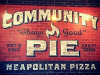 Community Pie Ad