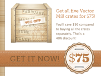 Vector Mill Cyber Monday