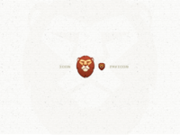Lion Icon And Favicon