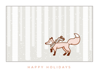 Festive Fox Final, Wallpapers, and Freebies