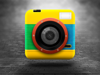 Lomo Camera iOS Icon