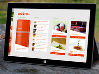 SAPO Sabores Hub - Windows 8