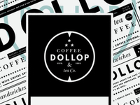 Dollop Window Signage