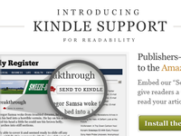 Kindle/Readability Newsletter