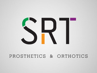 Logo for a prosthetics company