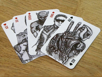 Superhero & Villain playing cards