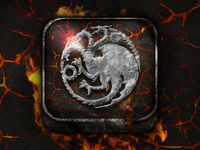 Targaryen Icon - Game of Thrones
