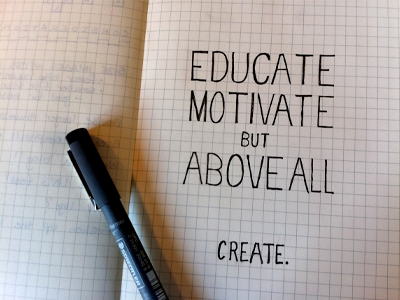Educatemotivatecreate