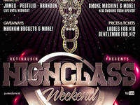 PSD HighClass Weekend Flyer Template