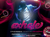 PSD Exhale Flyer Template