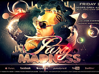 Madness Flyer -PSD-