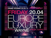 PSD Europe Luxury Flyer Template