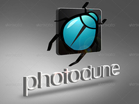 PSD Photo Realistic 3D Logo Mock-up