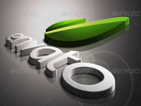 PSD Photo Realistic 3D Logo Mock-up V.2