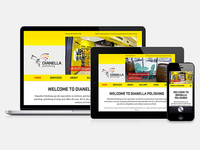Responsive Website: Header