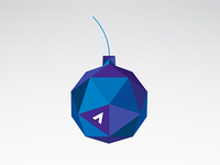 Geometric Bauble Ornament