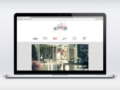 A Responsive Wedding Site