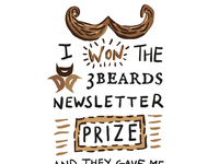 3beards Prize T-Shirt