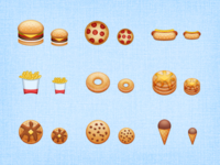 Eatables - Mantra Icons WIP 4