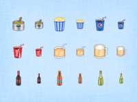 Drinks - Mantra Icons WIP 6