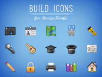 Build Icons for DesignKindle
