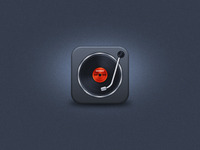 Turntable iOS Icon