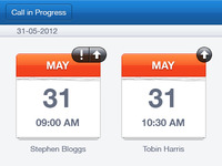 Call History - Sales Presentation iOS App