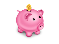 Piggy Bank Icon - Wave Apps