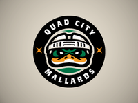 Quad City Mallards Alternate Mark
