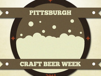 Pittsburgh Craft Beer Week Logo Two