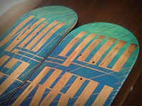 Laser Etched Skate Decks