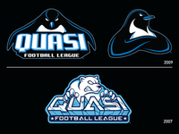 QFL Logo Progression