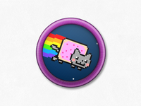 Nyan Badge