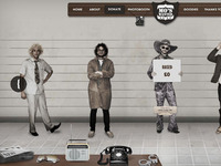 Mo's Wanted Movember Website
