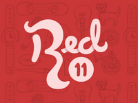 Revisited Red Eleven Logo