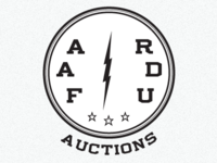 Auction Logo (vintage propaganda)