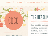 Coco Tumblr Theme is LIVE