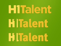 Logo: H1Talent Revision Ideas 2