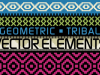 Geometric/Tribal Vector Elements