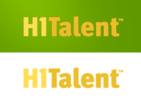 Logo Final for H1Talent.com