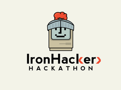 {Rejected} IronHacker Hackathon Logo