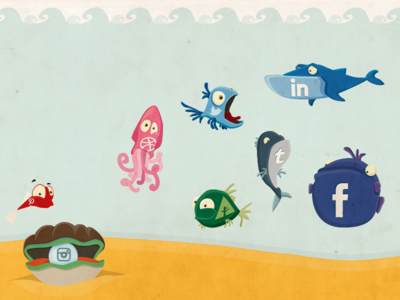Download Freebie: Social Fish