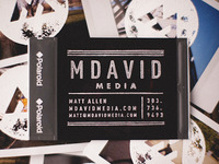 Real Polaroid Business Cards - Back