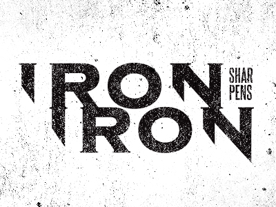 Ironsharpensiron_dribbble