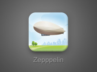 Zepppelin iPhone icon