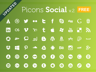 Download Picons Social v.2 Free