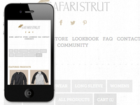 Safari Strut Mobile Shop