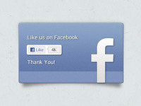 Facebook Like with Texture