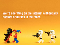 SOPA - operating without doctors