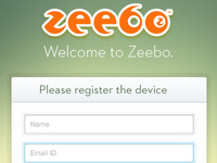 Registration  screen